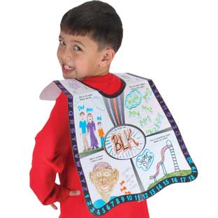 Ready-To-Decorate® All About Me Super Capes