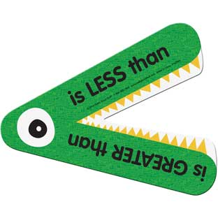 Greater Than Or Less Than Magnetic Teacher Demonstration Manipulative - 1 gator
