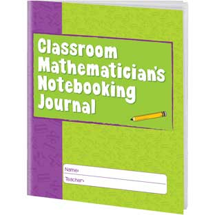 Classroom Mathematician's Notebooking Journals - 12 journals