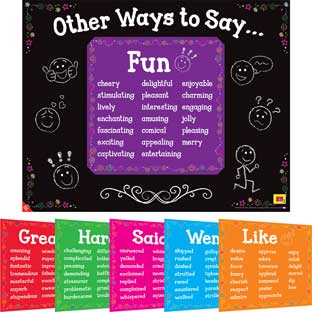 Other Ways To Say  6 In 1 Posters Set - 1 poster, 6 mini posters