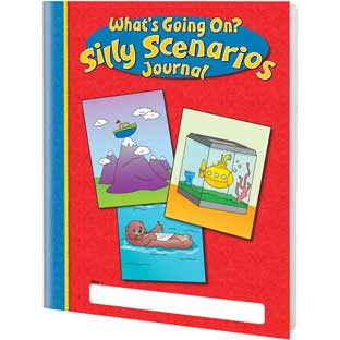 Silly Scenario Journals - 12 journals
