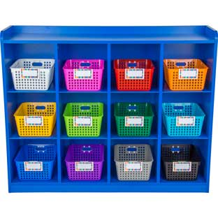 Really Good Classroom Cubby™ With Rainbow Baskets