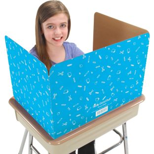 Really Good Stuff® Privacy Shields  - Turquoise