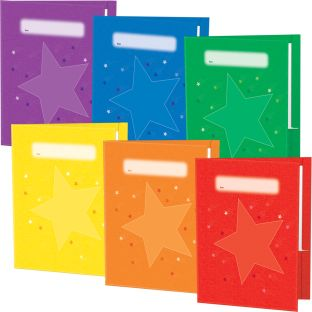 Group-Color Folders - 6-Colors