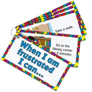 When I Am Frustrated Card Set