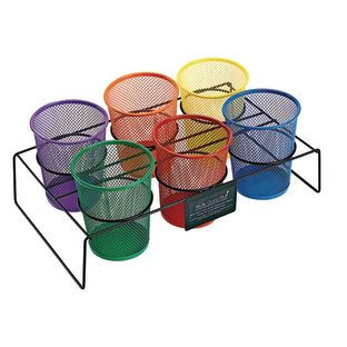 Classroom Supply Station - 1 holder, 6 cups