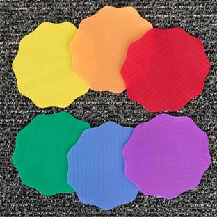Carpet Mark-Its™ -6 Colors - Set of 24