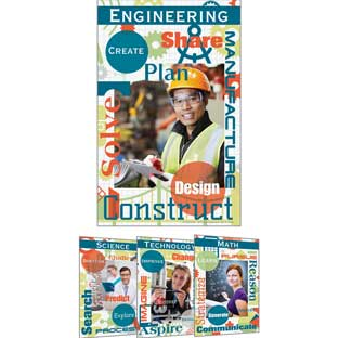 STEM Careers Poster Set