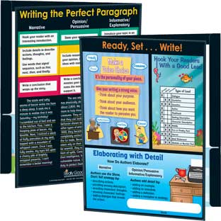 Intermediate Writing Resource Folders - 12 folders