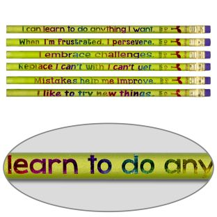 Growth Mindset Pencils