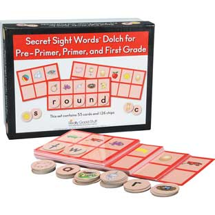 Secret Sight Words™ - Dolch For Pre-Primer, Primer, And First Grade