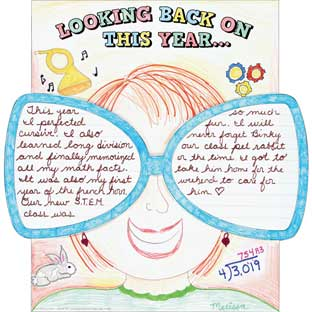 Ready-To-Decorate® Looking Back On This Year Posters - 24 Posters