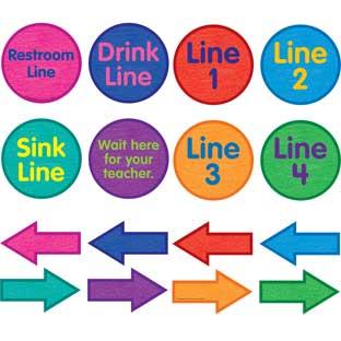 EZ Stick™ Classroom Line Helpers