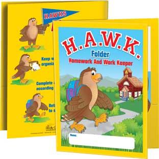 H.A.W.K. Folders - 12 folders