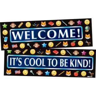 Emoji Welcome Banner - 1 banner