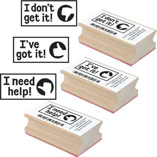 Self-Assessment Stamps