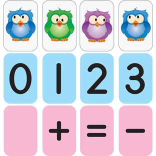 Math Magnets - Numbers To 20 - 160 magnets