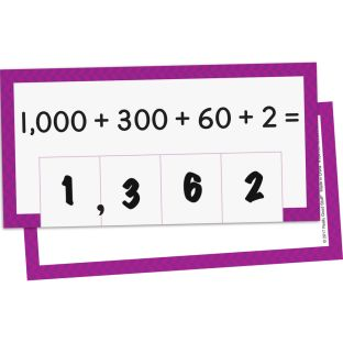 Place Value Activity Cards - 81 cards