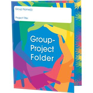 Group Project Tri-Fold 3-Pocket Folders