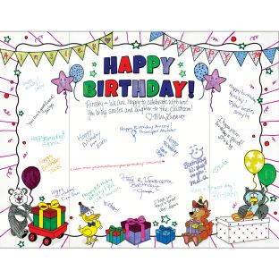 Ready-To-Decorate® Birthday Hug Cards - 24 cards