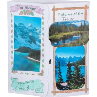 Ready-To-Decorate® Lapbooks - Biomes - 24 lapbooks