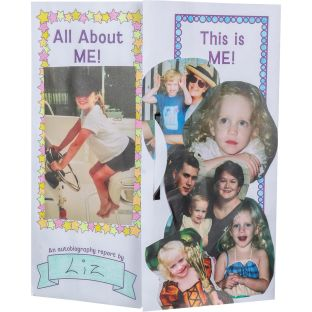 Ready-To-Decorate® Lapbooks - Autobiographies - 24 lapbooks