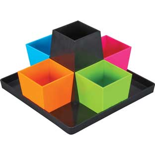 Square Organizer - Neon Pop