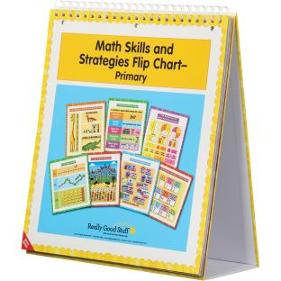 Math Skills And Strategies Flip Chart - Primary - 1 flip chart
