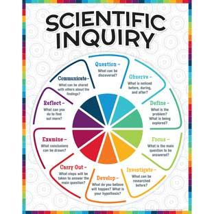 Scientific Inquiry Poster - 1 poster
