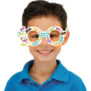 Ready-To-Decorate® Blank 100th Day Glasses