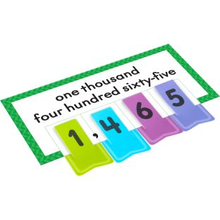 Place Value Activity Cards And Number Clips Kit