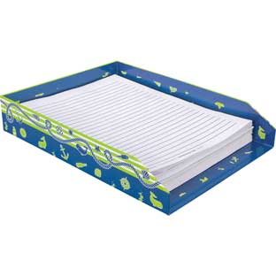 Nautical Paper Tray - 1 tray