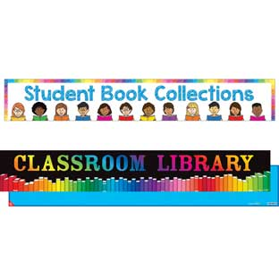 Classroom Banner Signage - Reading - 2 double-sided banners