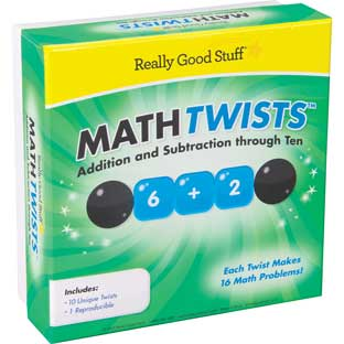 Math Twists™ - Addition And Subtraction Through Ten