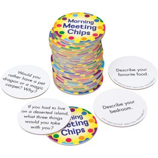 Morning Meeting Chips - 40 chips