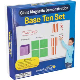 Giant Magnetic Demonstration Base Ten Set