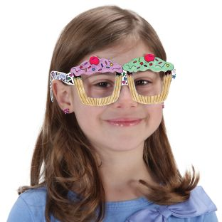 Ready-To-Decorate® Doodle Birthday Glasses - 32 glasses