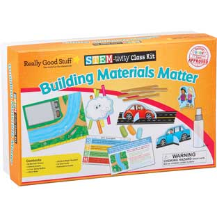 STEM-tivity™ Class Kit - Building Materials Matter