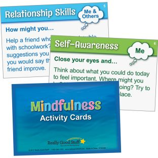 Mindfulness Activity Cards - 40 cards