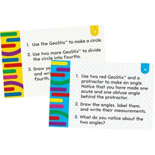 Geometric Plane Figures Task Cards