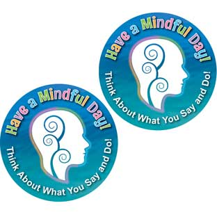 Have A Mindful Day! Stickers