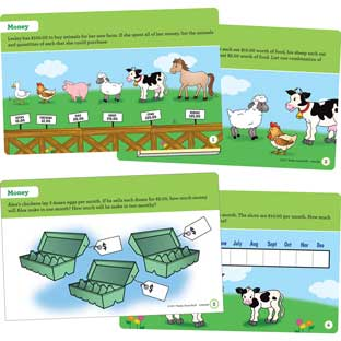 Farm Animal Task Cards - 22 cards