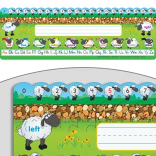 Sheep Self-Adhesive Vinyl Desktop Helpers™