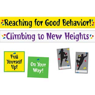 Climbing To New Heights Pocket Chart Cards Refill