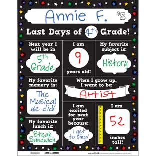 Ready-To-Decorate® Last Days Of School Posters - 32 posters