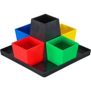 Square Organizer - Primary Colors - 1 organizer