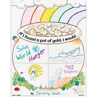 Ready-To-Decorate® Pot Of Gold Posters