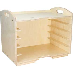 Supply Rack Case - 1 rack