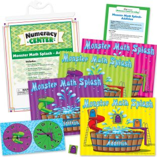 Monster Math Splash - Addition Numeracy Center™