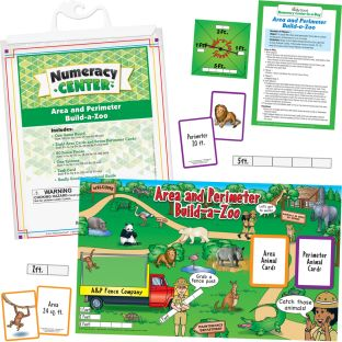 Area And Perimeter Build-A-Zoo Numeracy Center™ - 1 numeracy center